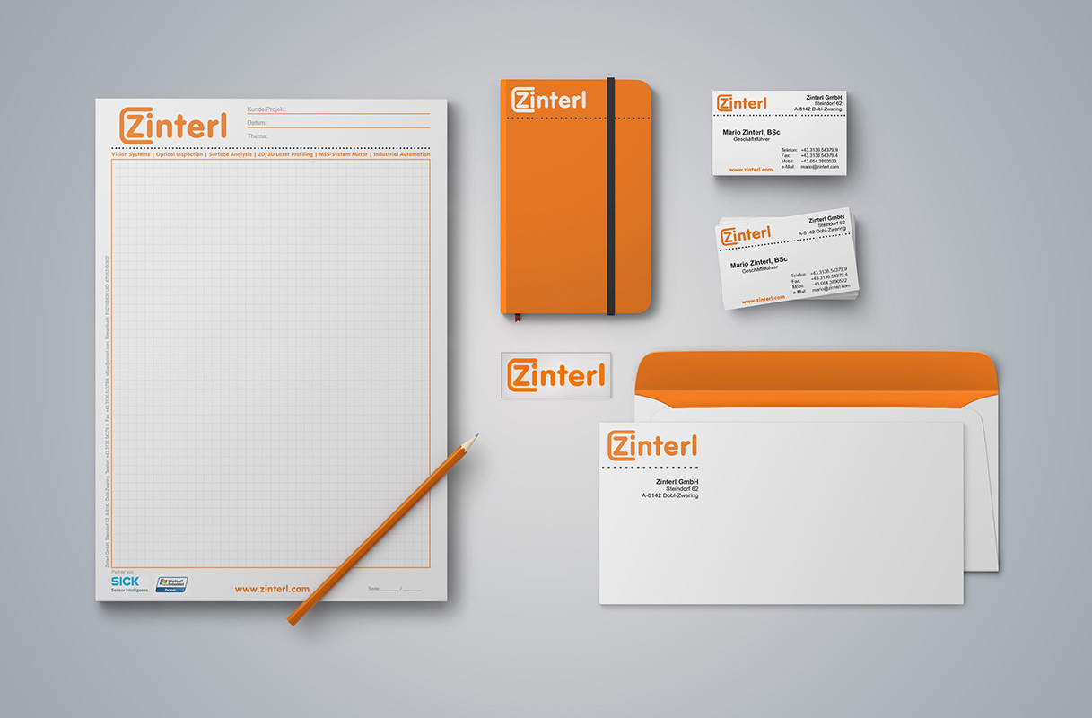Corporate Identity - Fa. Zinterl GmbH